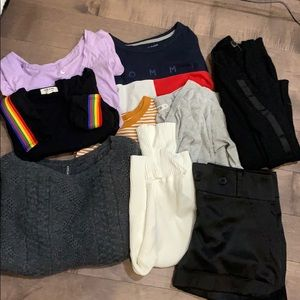 Bundle of clothes for women